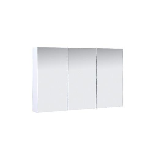 PVC Cabinet with Pencil Edge Mirror Doors