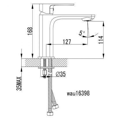 SETO Ch/W Basin Mixer