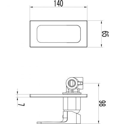 SETO Ch/W bath /shower mixer