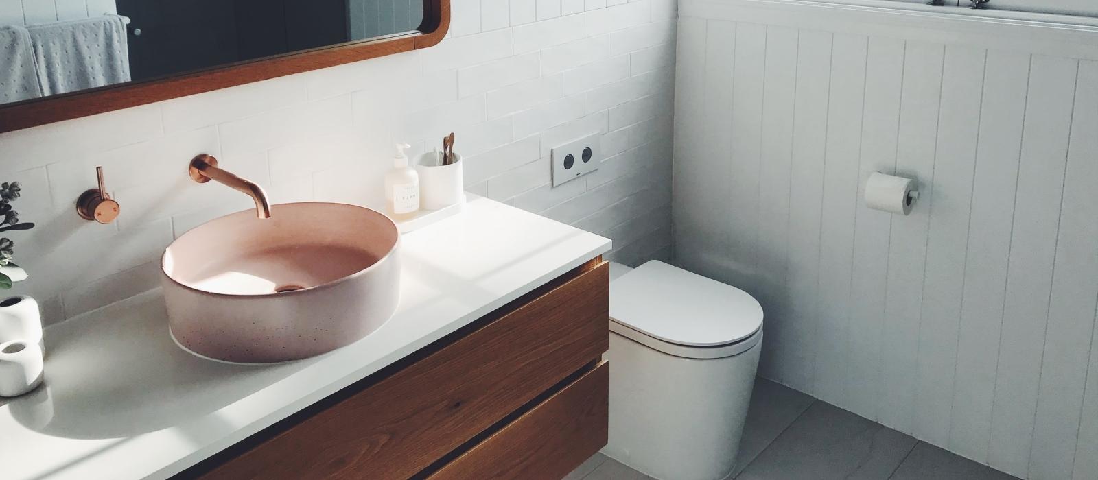 bathroom vanity banner